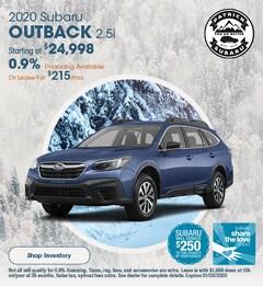 2020 Subaru Outback 2.5i December Offer