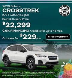 2020 Subaru Crosstrek (CVT with Eyesight)