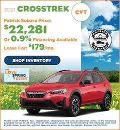 2021 Crosstrek