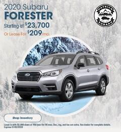 2020 Forester November Offer
