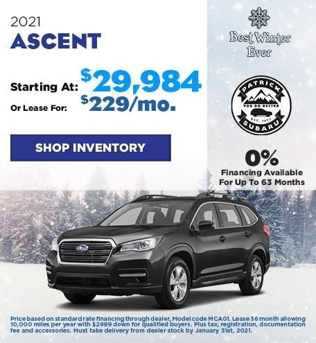 2021 Ascent
