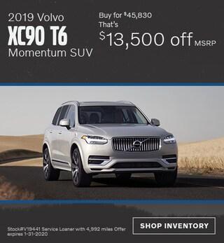 January 2019 Volvo XC90 T6 Momentum SUV