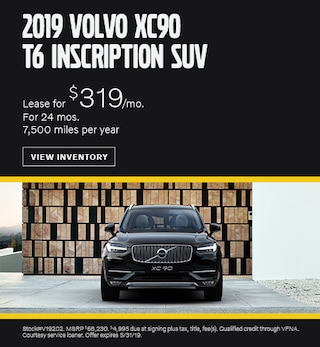 2019 May XC90 Lease