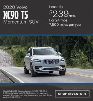 January 2020 Volvo XC90 T5 Momentum SUV