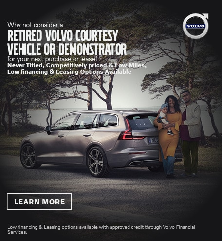 Consider a Retired Volvo Courtesy or Demostrator