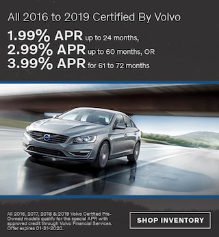 January All 2016 to 2019 Certified By Volvo