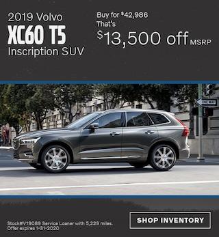 January 2019 Volvo XC60 T5 Inscription SUV