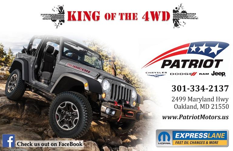 Patriot Automotive Group Inc | New Chrysler, Dodge, Jeep