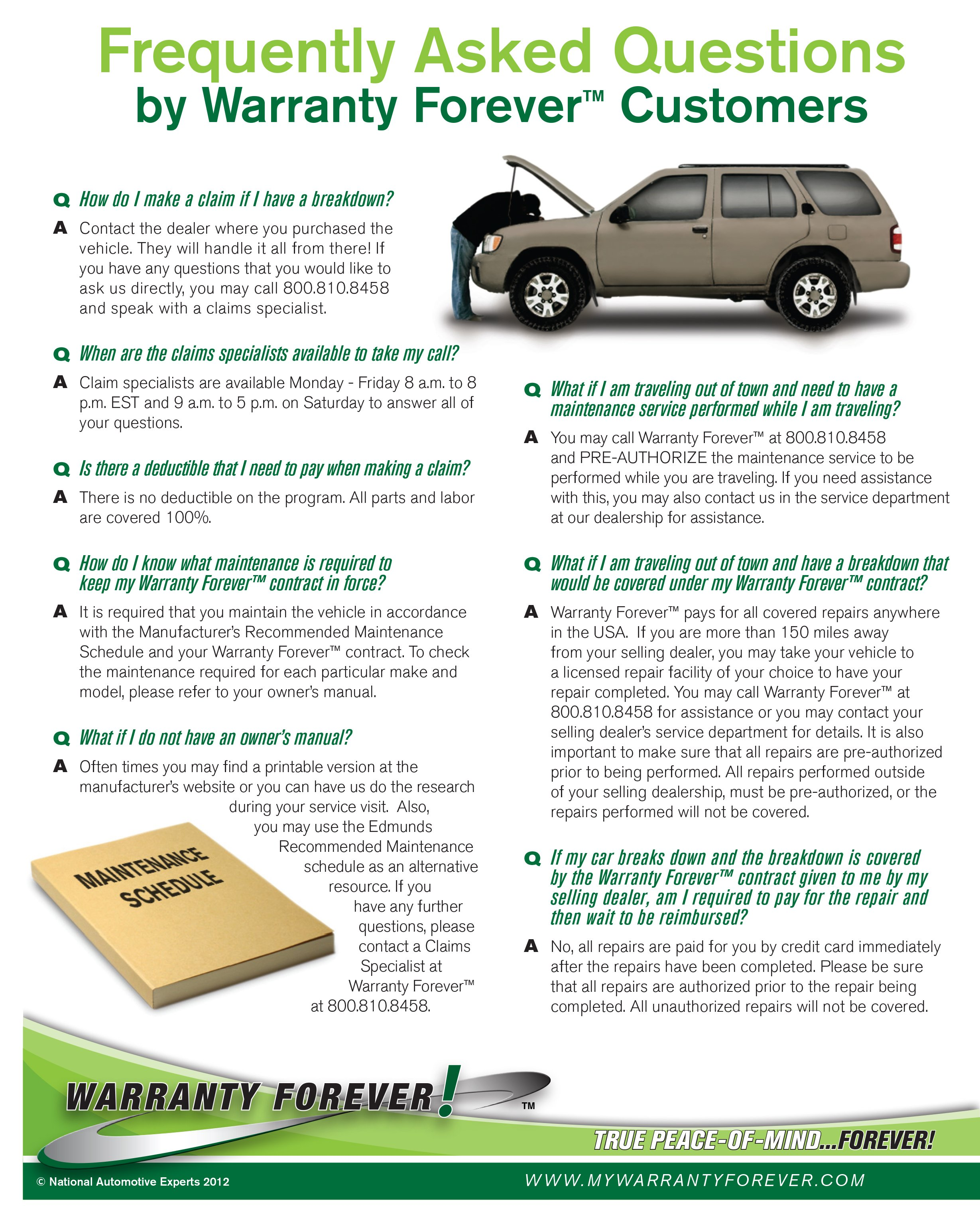 Warranty FAQ Patriot Chrysler Dodge Jeep Ram of McAlester
