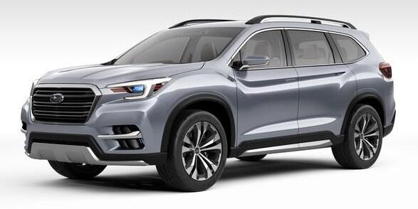 2018 Subaru Ascent >> The All New 2019 Subaru Ascent Is Coming Patriot Subaru Of North