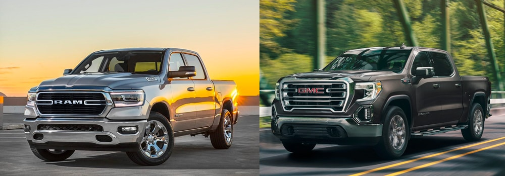 dodge ram vs gmc sierra