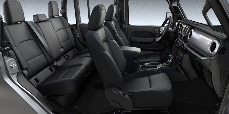 2020 jeep gladiator interior seating