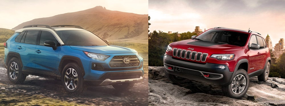 jeep cherokee vs toyota rav4