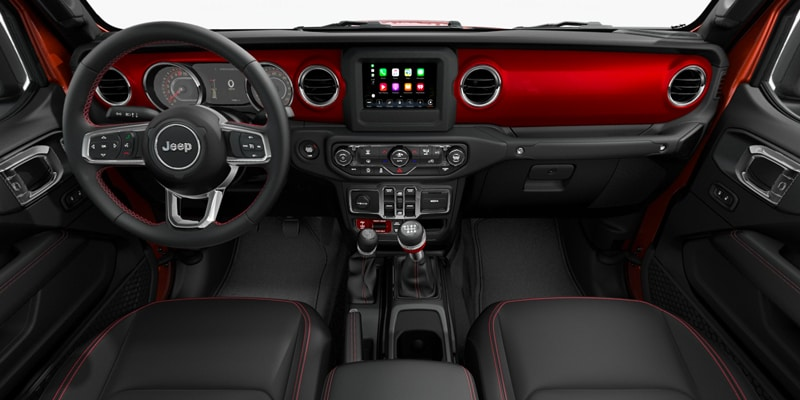 2020 jeep gladiator interior dash