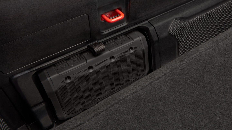 2020 jeep gladiator detachable wireless bluetooth speaker
