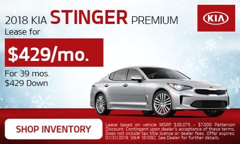 January Stinger Offer