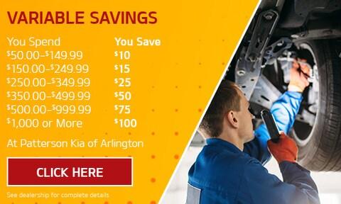 Variable Savings Special
