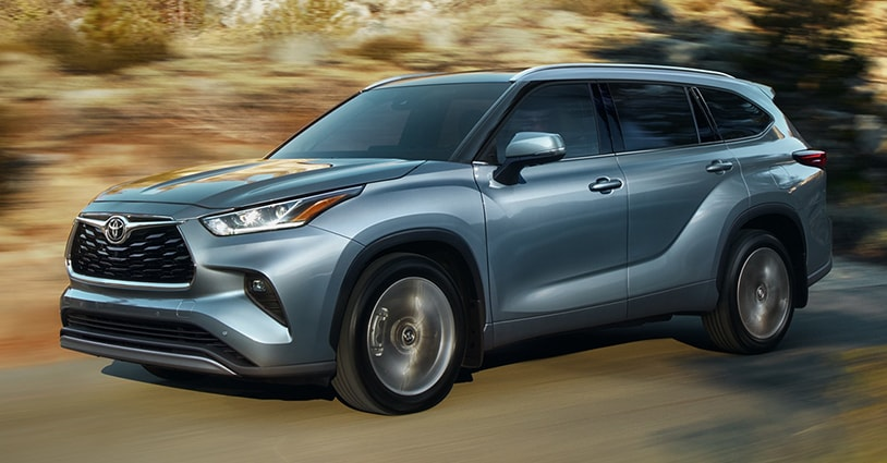 New 2020 Highlander Shapen Toyota