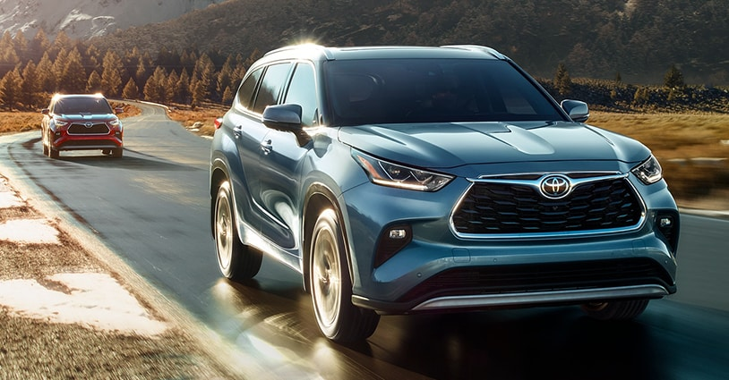 New 2021 Highlander Shapen Toyota
