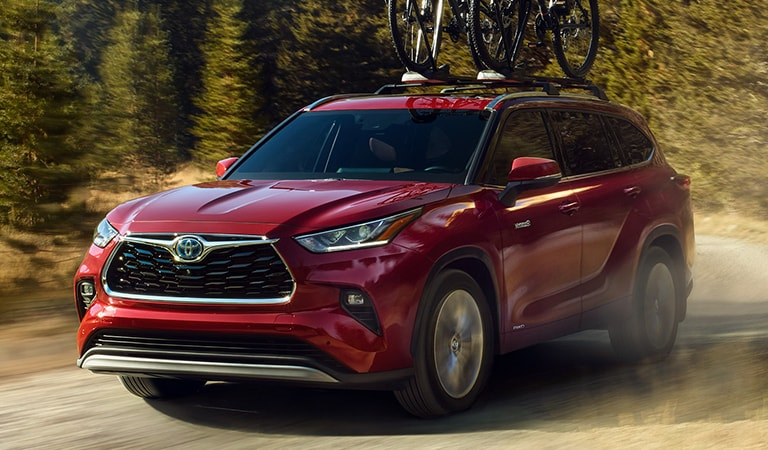 New 2020 Toyota Highlander Marshall TX