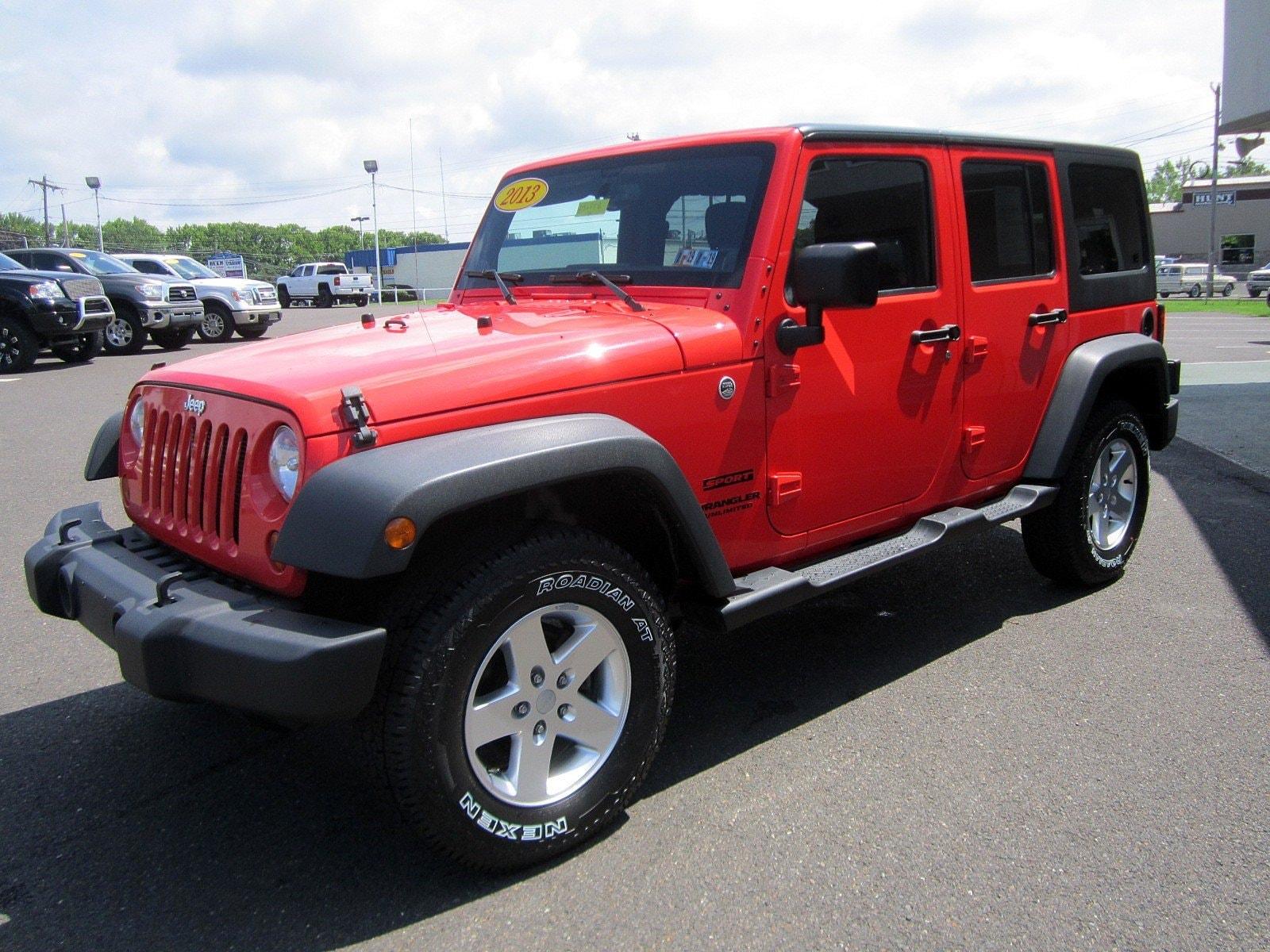 ... 2013 Jeep Wrangler Unlimited UNLIMITED SPORT 4WD HARD TOP 4 DOOR SUV ...