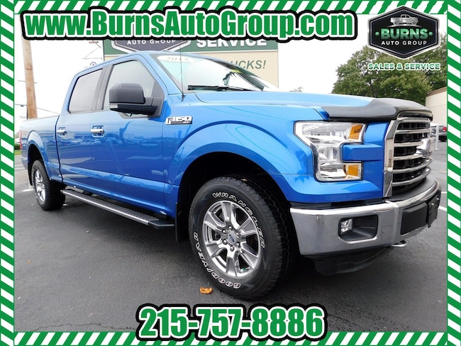 2015 Ford F-150 - CREW CAB - XLT - CHROME PACKAGE - 4X4 Truck SuperCrew Cab