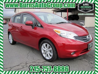 Used 2014 Nissan Versa Note - SL - 4CYL - PWR WINDOWS & LOCKS Hatchback for Sale near Levittown, PA, at Burns Auto Group