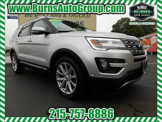 New 2016 Ford Explorer - Limited - Navigation - Pano Roof - Leather - 4X4 SUV for Sale Levittown, PA, Burns Auto Group