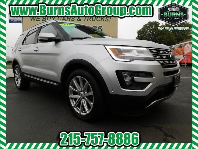 2016 Ford Explorer - Limited - Navigation - Pano Roof - Leather - 4X4 SUV