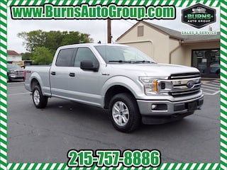 Used 2019 Ford F-150 XLT SuperCrew 4WD Truck SuperCrew Cab for Sale near Levittown, PA, at Burns Auto Group