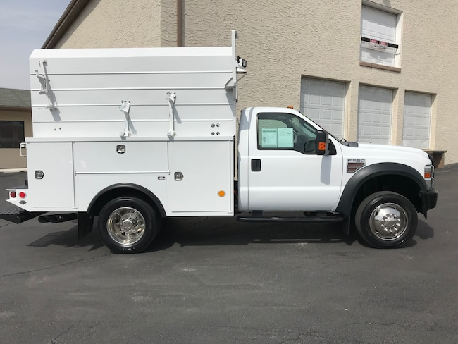 2009 Ford F-550 XL Diesel 8ft Enclosed Utility