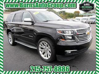 Used 2015 Chevrolet Tahoe LTZ - DVD - Navigation - Leather - Moon Roof - 4x4 SUV for Sale near Levittown, PA, at Burns Auto Group