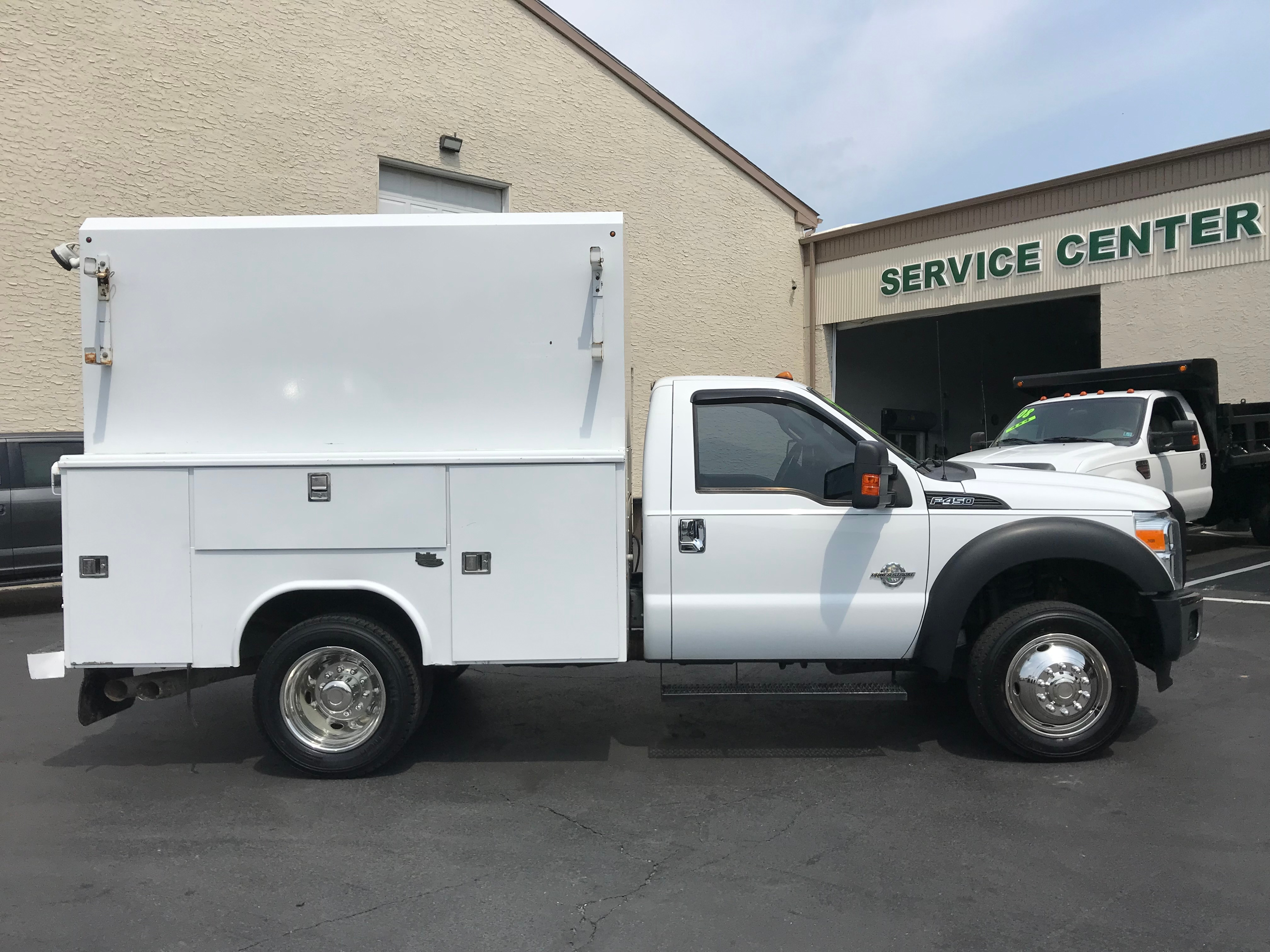 USED 2012 FORD F450 XL SERVICE - UTILITY TRUCK #591930