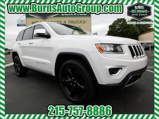 Used 2015 Jeep Grand Cherokee - LIMITED - NAVIGATION - 4X4 - LEATHER - 20' WHEEL SUV for Sale near Levittown, PA, at Burns Auto Group