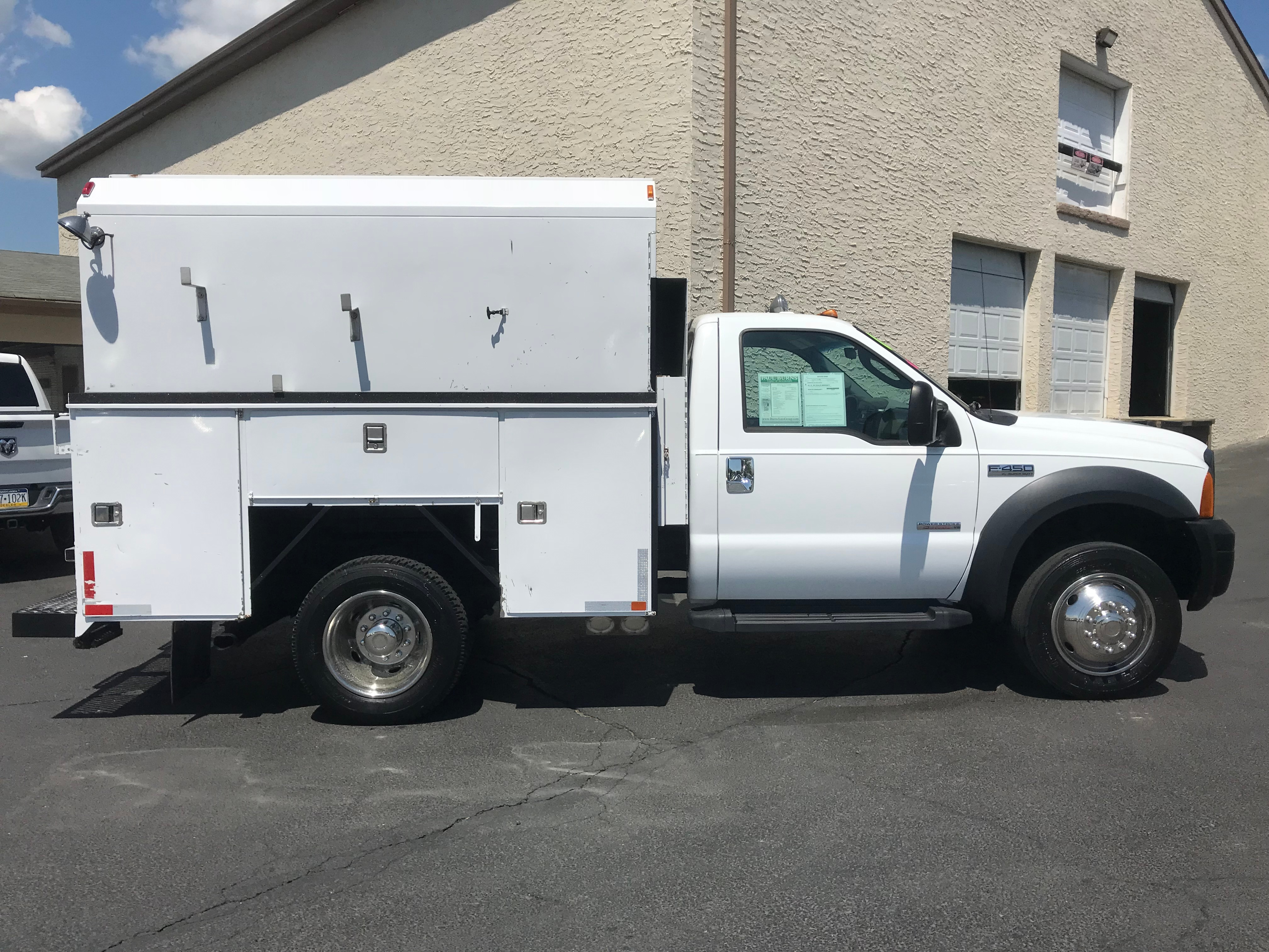 USED 2006 FORD F450 XL SERVICE - UTILITY TRUCK #570960