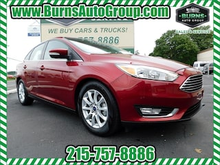 New 2017 Ford Focus Titanium - Leather - Moon Roof Sedan for Sale Levittown, PA, Burns Auto Group