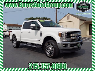Used 2019 Ford F-350 Lariat Crew Cab LB 4WD Truck Crew Cab for Sale near Levittown, PA, at Burns Auto Group