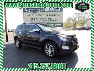 Used 2016 Chevrolet Equinox LTZ - AWD - LEATHER - PREMIUM WHEELS SUV for Sale in Levittown, PA, at Burns Auto Group