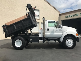 Used 2008 Ford F750 CAT 7 Diesel Mason Dump for Sale near Levittown, PA, at Burns Auto Group