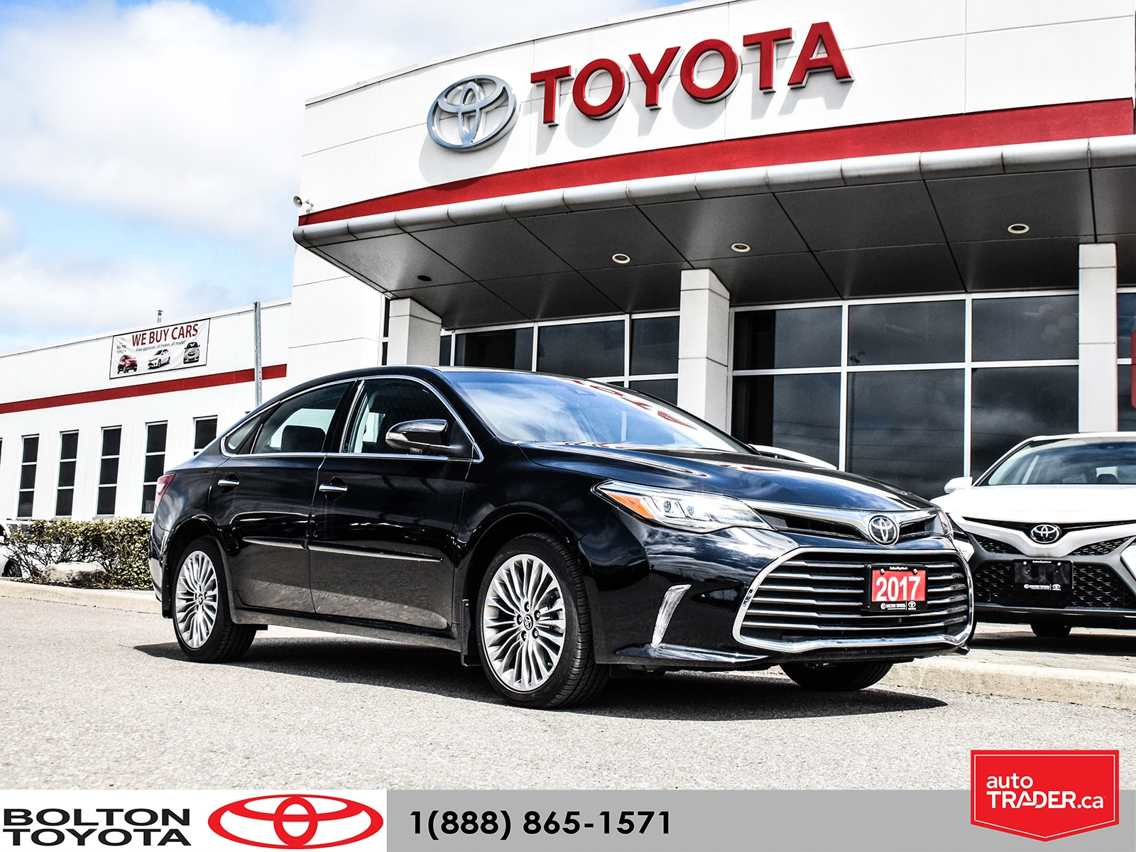 2017 Toyota Avalon Limited|No Accident|LOW KM|Navigation Berline