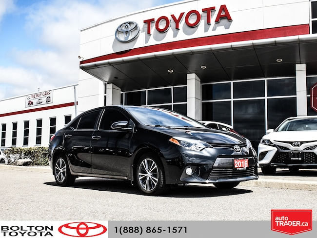 2016 Toyota Corolla 4-Door Sedan LE UPGRADE | ONE OWNER Sedan