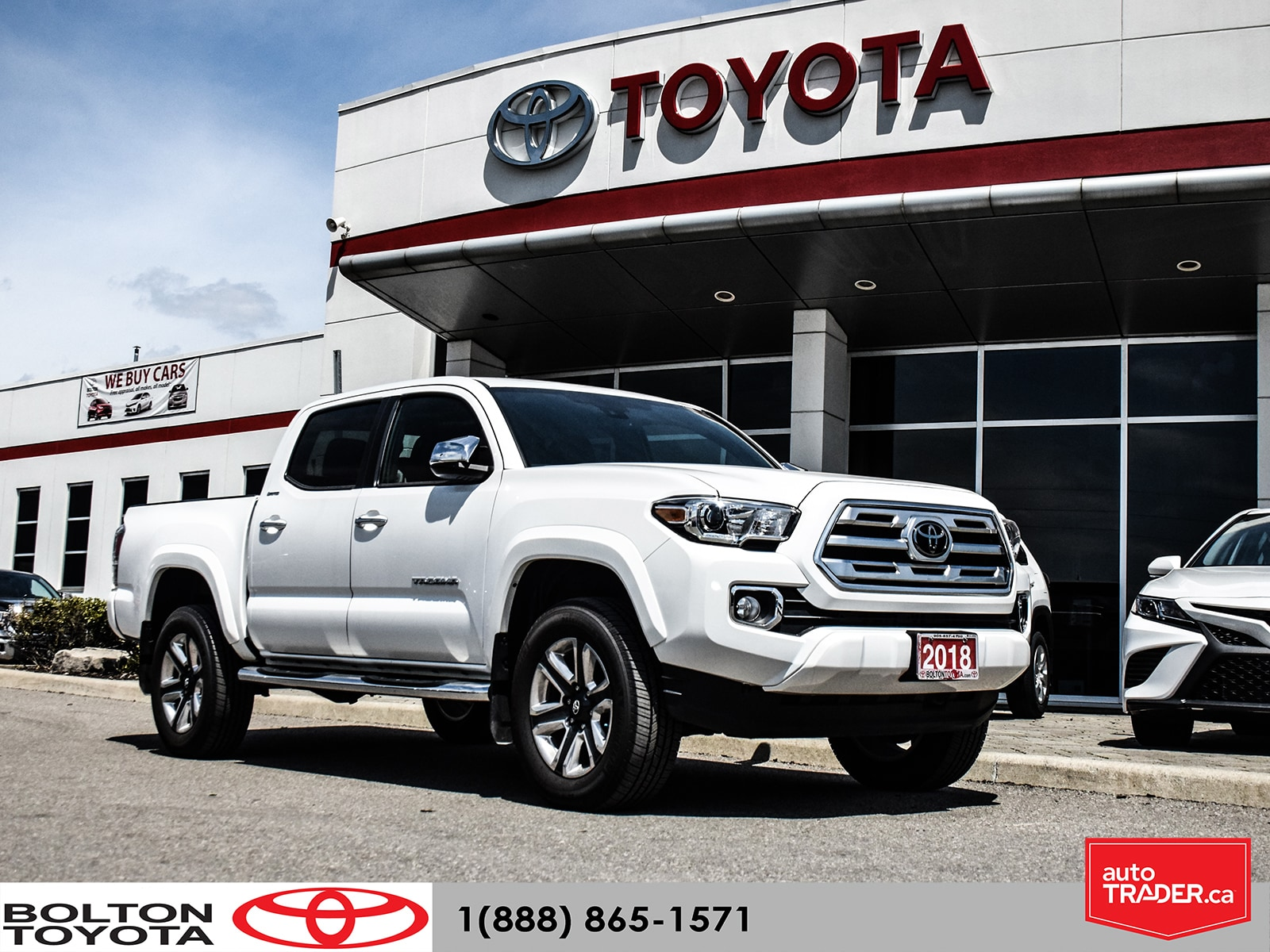 2018 Toyota Tacoma Limited|Executive Demo|Navigation|Low KM Camion cabine double