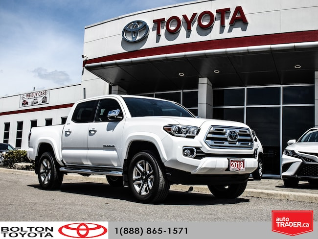 2018 Toyota Tacoma Limited|Executive Demo|Navigation|Low KM Truck Double Cab