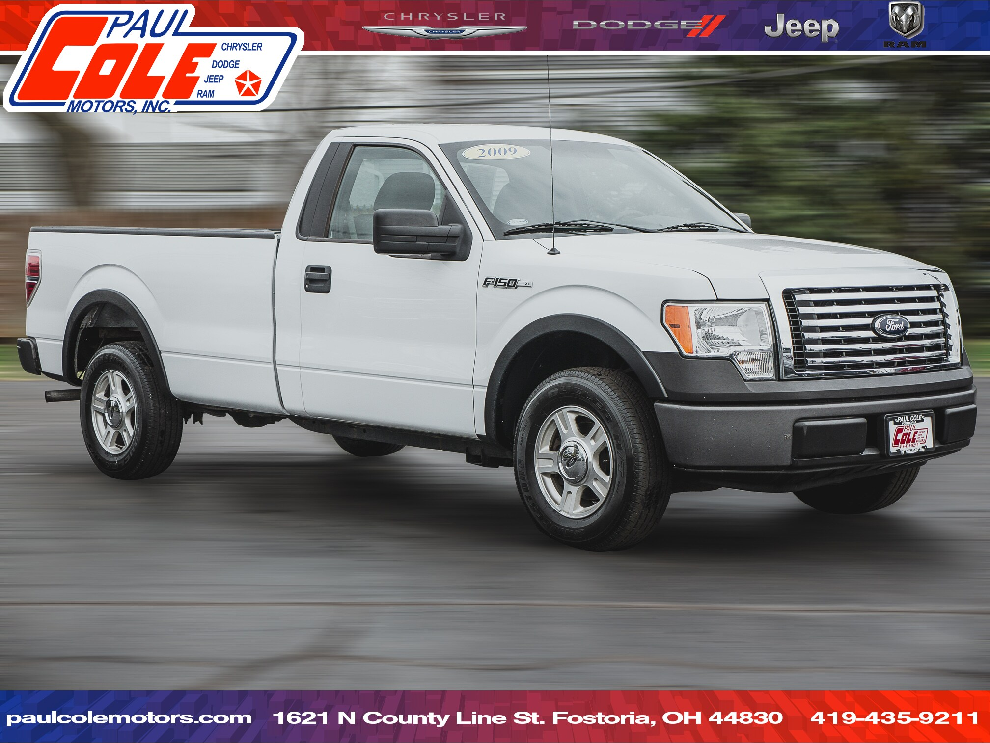 Used 2009 Ford F-150 XL For Sale   Fostoria OH   VIN