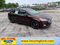 New 2019 Ford Fusion SE Sedan 3FA6P0HD9KR247832 for sale in Hobart, IN