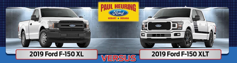 2019 ford f-150 xl vs xlt