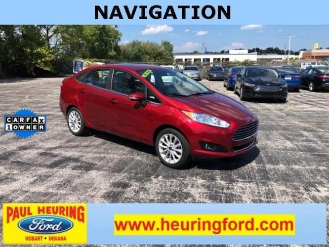 Pre-Owned 2017 Ford Fiesta Titanium Sedan for sale in Hobart, IN