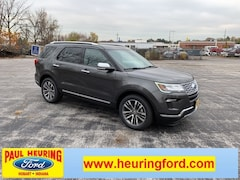 New 2019 Ford Explorer Platinum SUV 1FM5K8HT1KGA05209 for sale in Hobart, IN