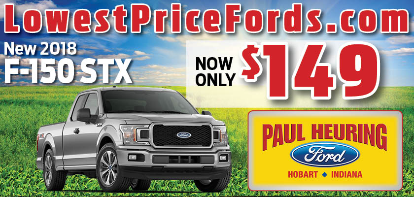 New 2018 Ford F-150 STX | $149