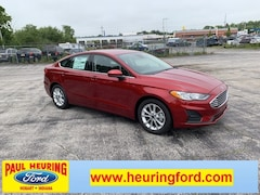 New 2019 Ford Fusion SE Sedan 3FA6P0HD4KR214091 for sale in Hobart, IN